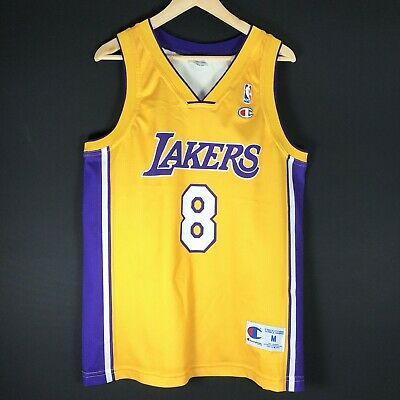NEW Rookie Champion Kobe Bryant LAKERS M NBA Trikot Basketball Jersey Champion