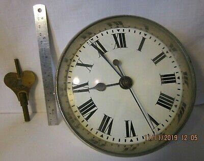 Rare GPO clock marked CG 24 235 No1 possibly for railway carriage