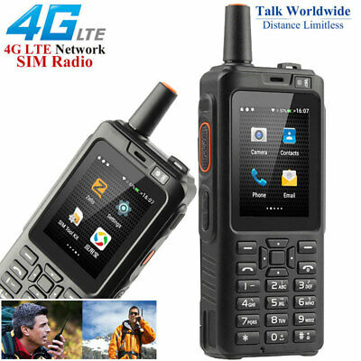 Unlocked 4G LTE Android Rugged Waterproof Smartphone Walkie Talkie PTT Dual SIM