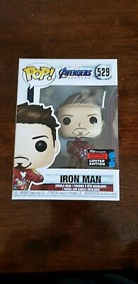 NYCC 2019 Funko Pop! Marvel #539 Iron Man With Gauntlet Avengers Endgame