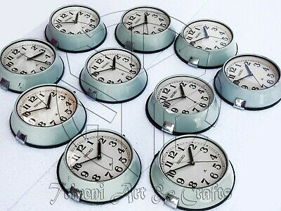 Lot of 10 Vintage 1980's Navigation Seiko Slave Maritime Clock Ship Quartz Japan