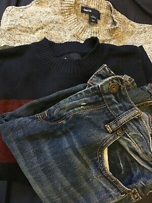 Gap jumpers and jeans bundle 8- 9 years