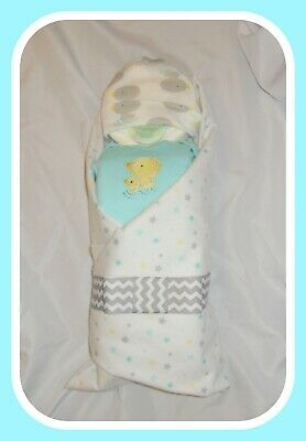 Neutral Duck Themed Diaper Cake Baby-Gorgeous Centerpiece/Gift