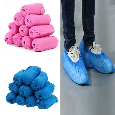 100/200 Pcs Universal Disposable Shoes Covers Protectors Dustproof Shoe Covers