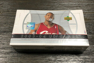 03/04 UD Glass HOBBY Box! SEALED! JAMES RC?