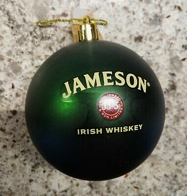 Jameson Whiskey Christmas Ornament (Genuine, New)