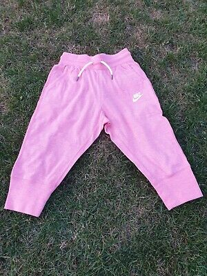 Pantacourt rose corail chamarré fille 8 / 10 ans - NIKE - comme neuf