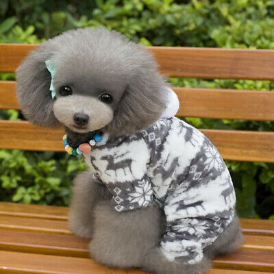 Coat Sweater Chihuahua Winter Jumper Pet Clothes Fleece Puppy Dog Warm Knitwear