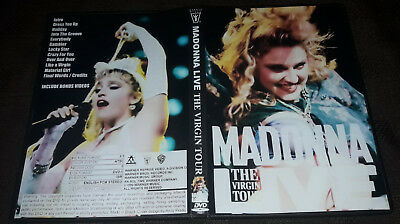 Madonna - Live The Virgin Tour 1985 DVD Special Fan Edition