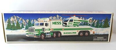 Hess Toy Truck & Helicopter 1995 New In Original Box
