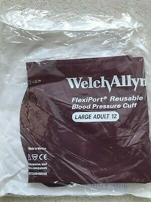 WelchAllyn Reuse-12 Large Adult Reusable Blood Pressure Cuff