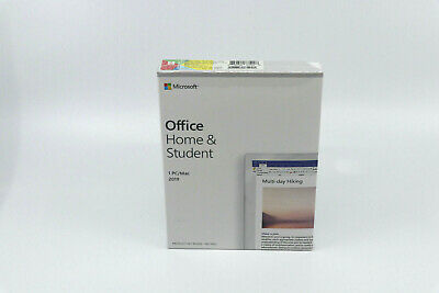 New Microsoft Office Home and Student 2019 for 1 PC/MAC