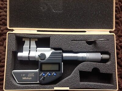 MITUTOYO 345-351-10 BORE MICROMETER with MASTER RING