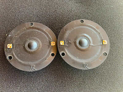 ACOUSTIC RESEARCH ORIGINAL AR-11 TWEETERS PAIR Grt Condition