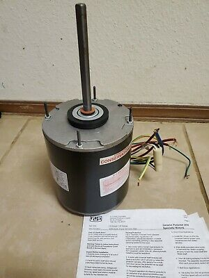 A.O. Smith D1076 3/4 HP 208-230V Direct Drive Blower Motor