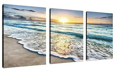 3 Panel Wall Art Blue Sunset Mountains Landscape Overcast Sky Storm Purple Flowers Carpathian Ukraine Painting The Flower Picture Print On Canvas Pictures For Home Decor Stretched By Wooden Frame 8104664