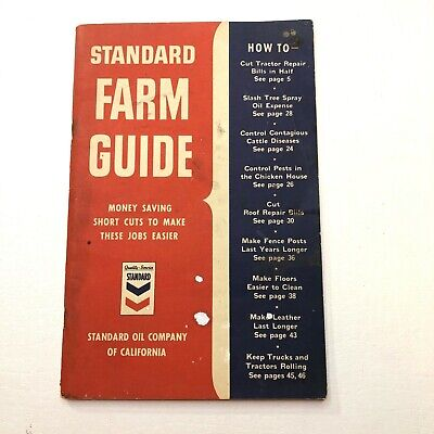 1  STANDARD OIL HOUSEHOLD HELPS S.T RORER/'S RECIPES BOOKLET VINTAGE