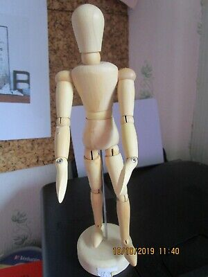 "8"" Artist Wooden Manikin Mannequin Figure Drawing Model Aid"