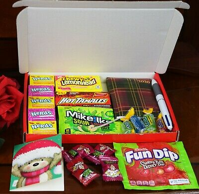American Candy Gift Box Nerds Sweets Birthday Present Christmas Gift Hamper