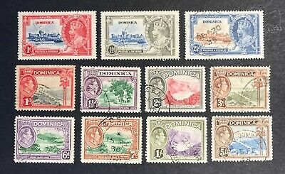 Dominica 1935-1947 Used Selection Cat £30+