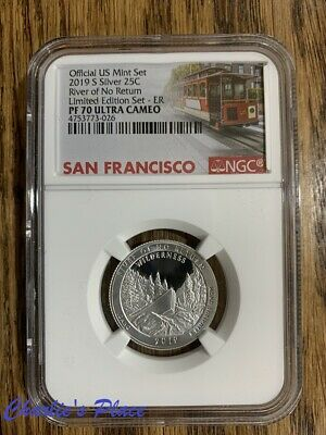 2019-S Limited Edition Silver Proof Set Frank Church NGC PF70UC ER