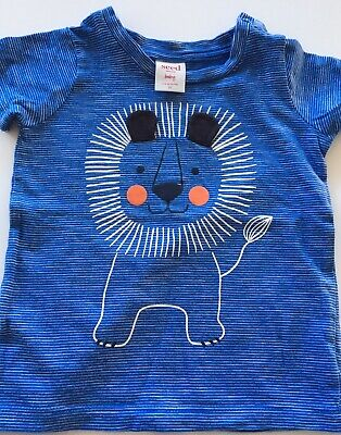 SEED Baby Boy Lion T-Shirt, Size 00