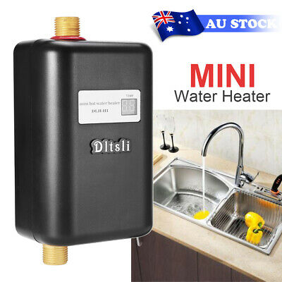 Electric Tankless Hot Water Heater Instant Heating Portable Shower Systems 3800W