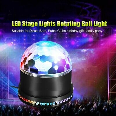 Disco Party DJ LED RGB Stage Effect Light Laser Crystal Magic Ball Party Lamp