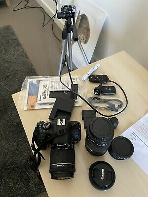 Canon 750D Body, Lenses with full accessories