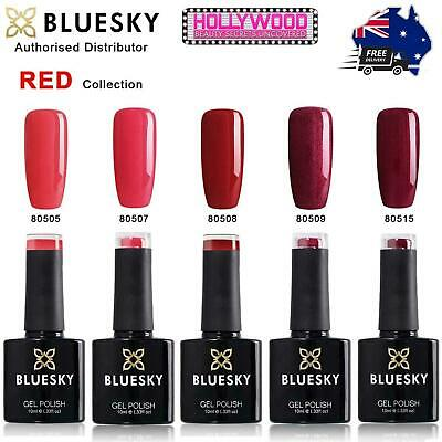 Bluesky UV LED Gel Polish 10ml - Red Collection