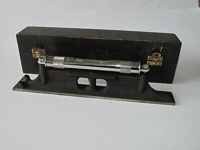 Moore & Wright Engineers Level + Box. New.