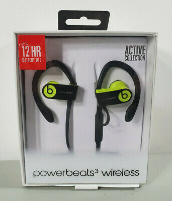 PARTS ONLY Bluetooth Headphones Powerbeats3 Wireless Beats by Dr. Dre BLACK