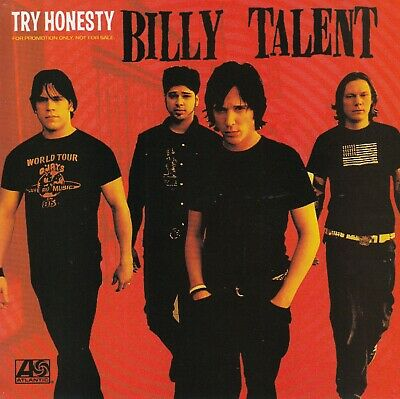 Billy Talent Try Honesty 2003 (Maxi-CD)