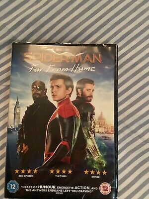 Spider Man Far From Home DVD UNOPENED