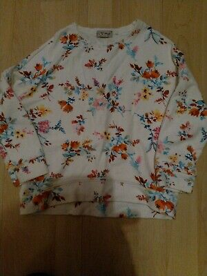 Next Girls Floral Jumper Age 6 Years