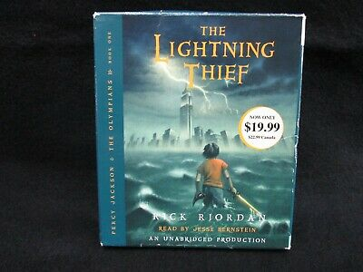 Percy Jackson and the Olympians: The Lightning Thief by Rick Riordan Audiobook