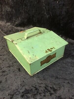Vintage Shoe Cleaning Box old retro collectible