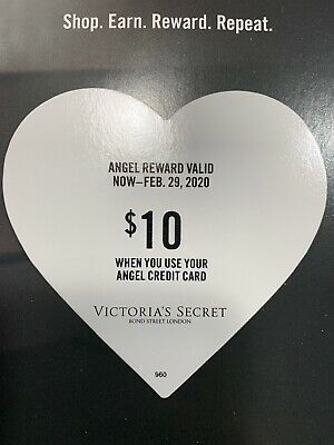 Limited Time!!! Victorias Secret Angel Rewards Card $10 💕Free Shipping!!!