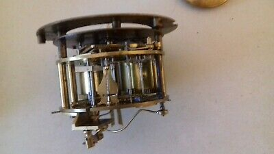 french drum clock movement