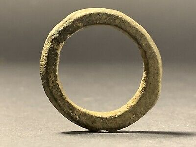 Very Rare Museum Quality Ancient Celtic Pre-Coinage Ring Money Circa 600-200Bc