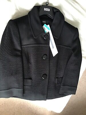 M&S 2-PIECE SUIT. SIZE UK 12 & 14 - with stretch, machine washable bnwt