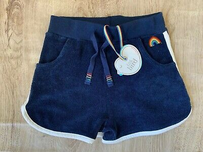 Little Bird By Jools Oliver Boys/Girls Navy Towelling Shorts 4-5 Years BNWT 🌈