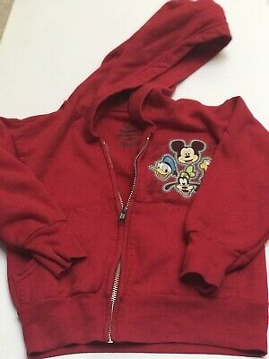 Mickey Mouse And Friends Hoodie From Disneyland Parks - Sz 5 Yrs