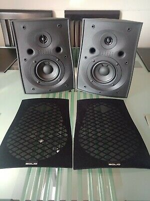 Home theatre Solid solutions C100 main or surround speakers, made by B&W, UK