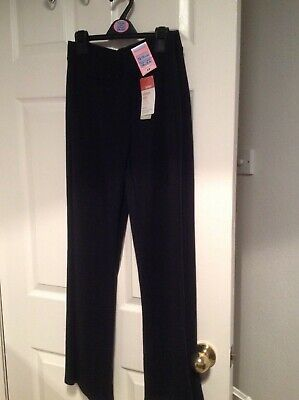New 2 pairs girls M&S black school trousers age 12-13 years £9 each