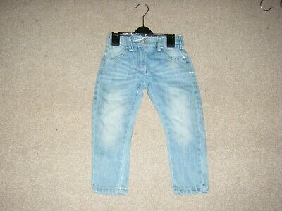 Girls Blue Denim Jeans Age 3 Years from Next