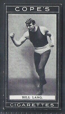 Cope Copes-Boxers Boxing-#030- Bill Lang