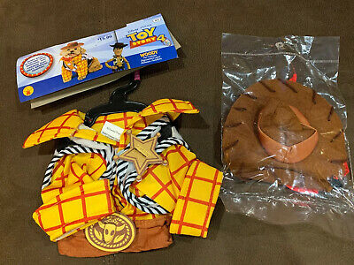 Toy Story 4 Woody Rubie's Disney Pet Costume, Size XS, New In Package