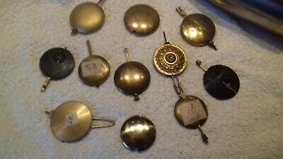 antaque/vintage clock vintage pens and bobs free postage x 11