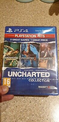 PlayStation Hits - Uncharted The Nathan Drake Collection (PS4, 2018) Sealed